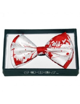 Blood Splatter Bow Tie