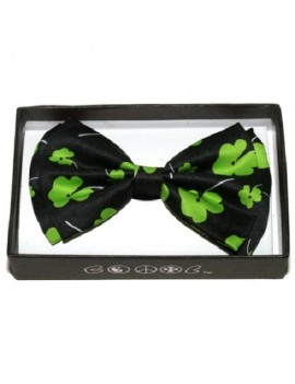 Irish St Patricks Day Shamrock Bow Tie BOT-17