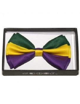 Bow Tie Mardi Gras Carnival BOT-9-6