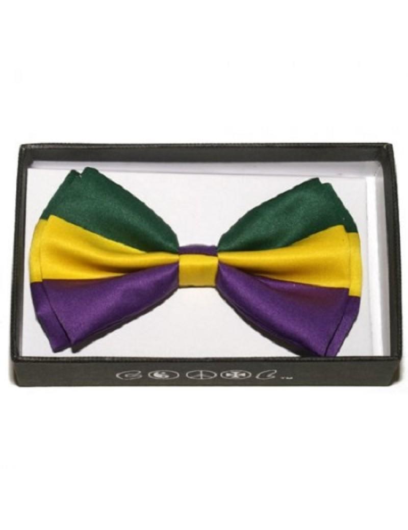 Mardi Gras Bow Tie