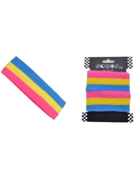 Pansexual Sweat Headband And Wristband Set