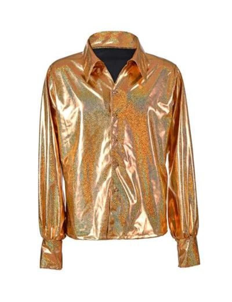 Gold Metallic Shirt