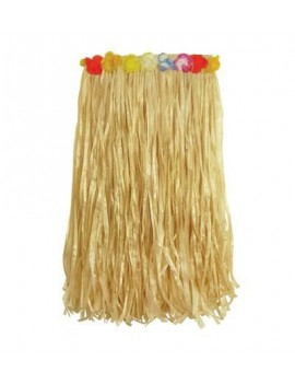 Hawaiian Rafia Grass Skirt Natural