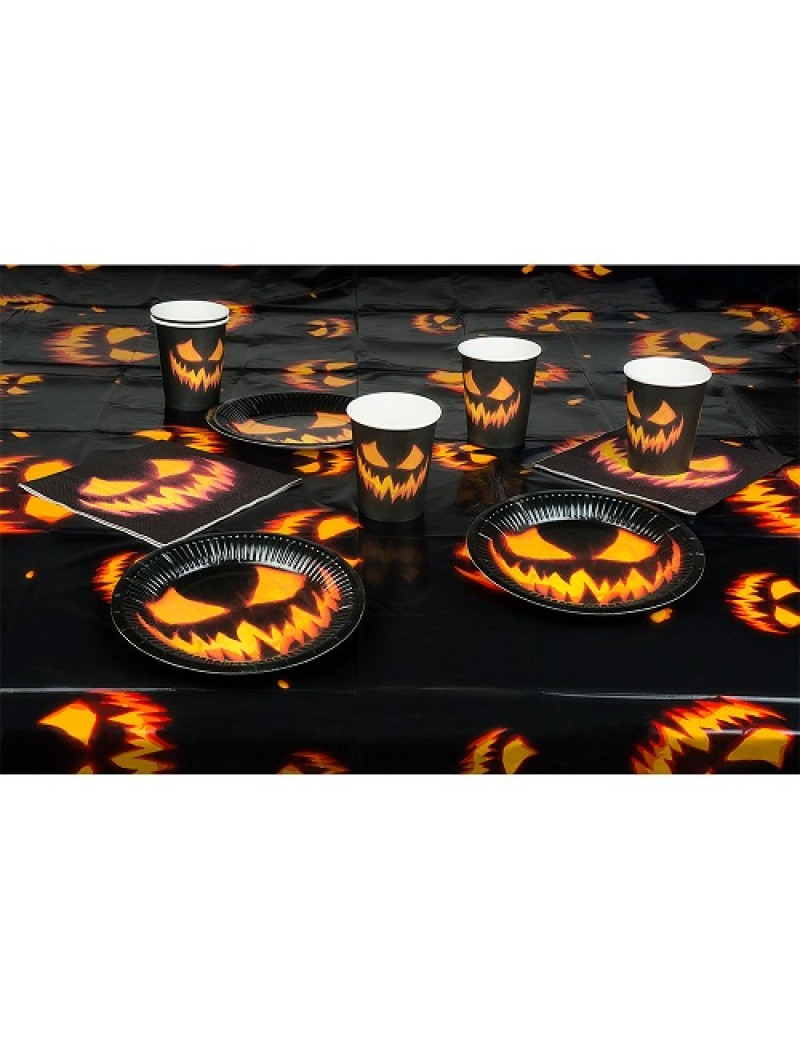 Creepy Pumpkin Tableware Set