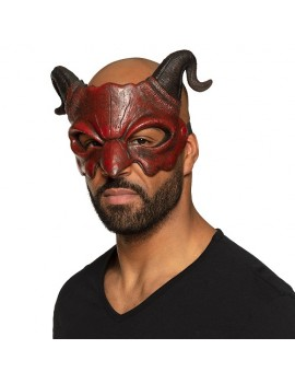 Demon Half Face Foam Mask