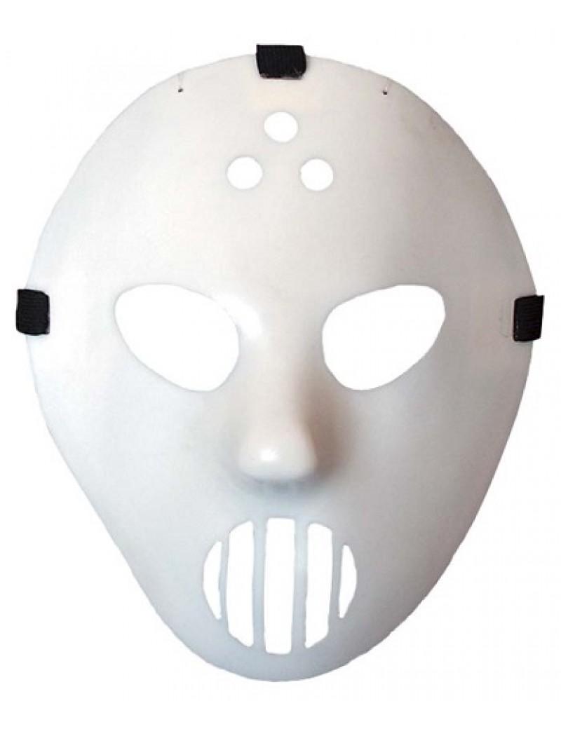 Glow In The Dark White Hockey Mask