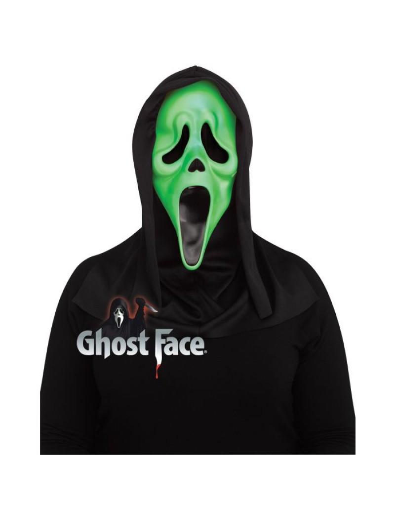 Scream Ghostface Fluorescent Acid Green Mask