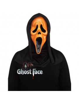 Scream Ghostface Fluorescent Orange Mask