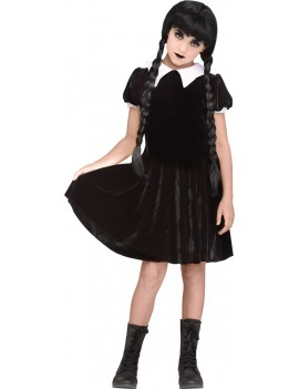 Gothic Girl Wednesday costume Fun World 3576