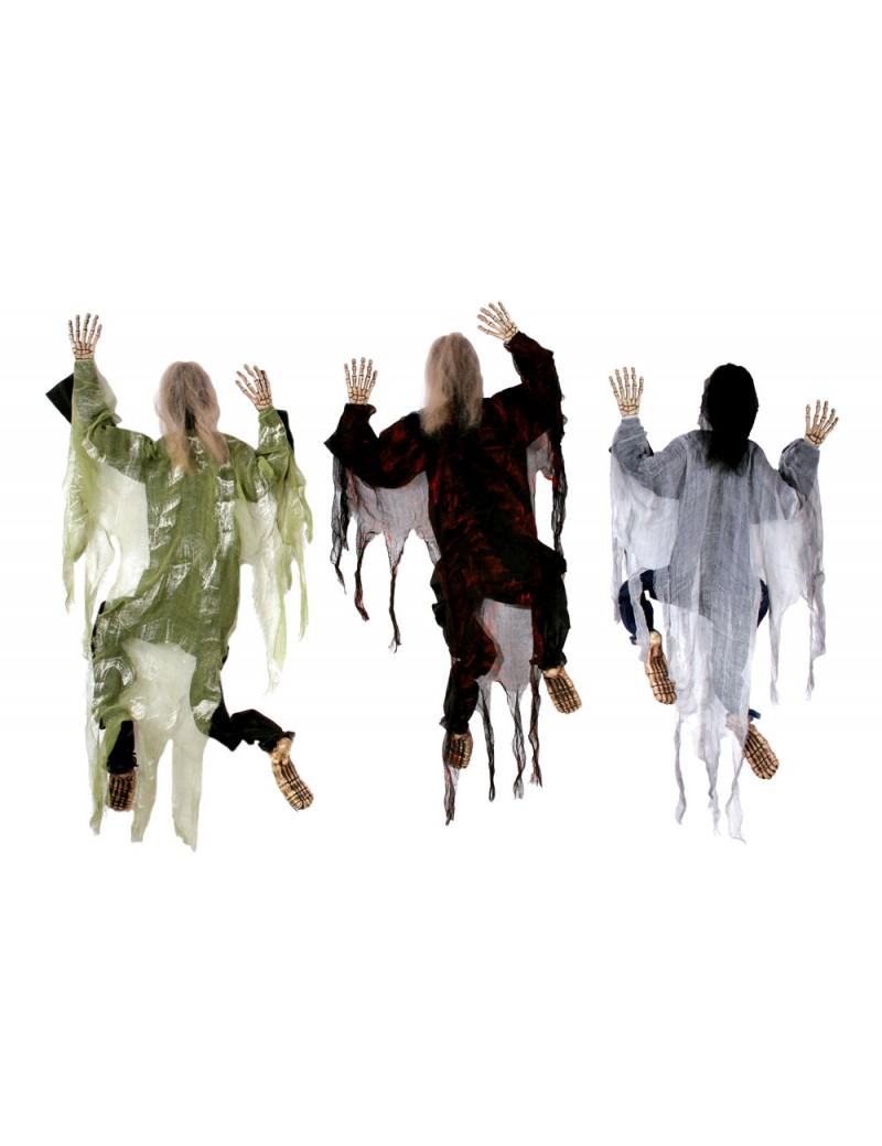 Zombie Climbing Dead Figure Green