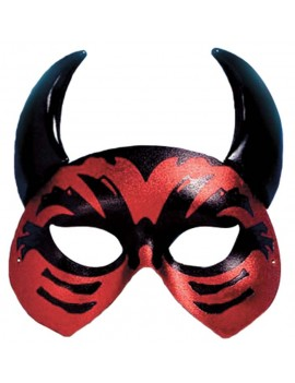 Devil Lucifer red black eye mask Palmer Agencies 0761