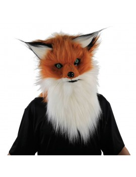 Fox Mask With Moving Mouth Palmer Agencies 1613
