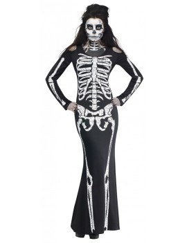 Skelelicious Skeleton Adult Costume Fun World 3234