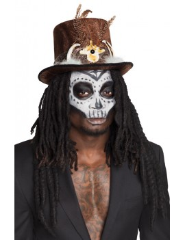 Voodoo Top Hat with Dreads Boland 72183