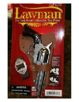 Cowboy Lawman 12 Shot Replica Revolver
