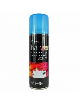 Coloured Hair Spray Neon UV Blue Peppy