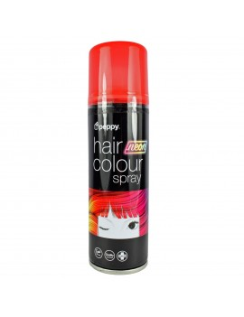 Coloured Hair Spray Neon UV Red Peppy