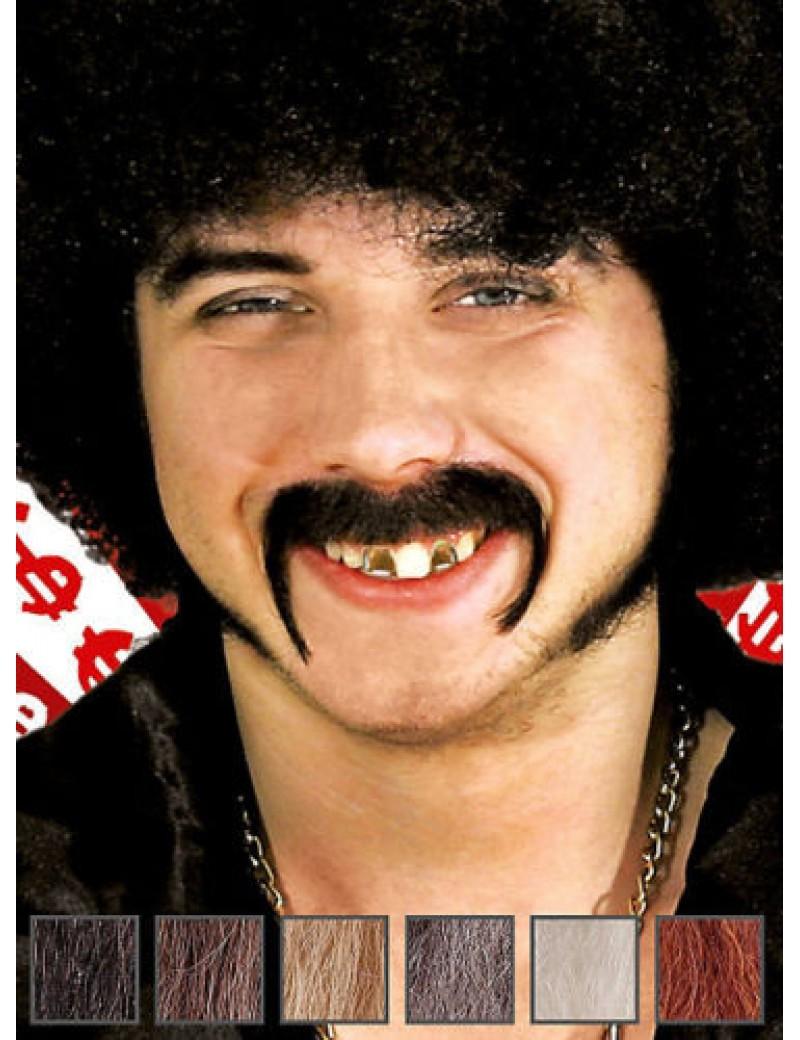 70s Pimp Professional Real Hair Moustache