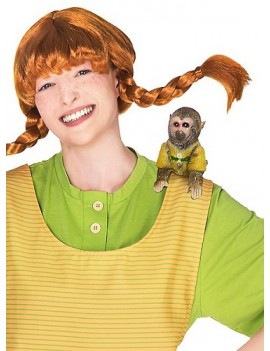 Pippi Longstocking Monkey Shoulder Prop