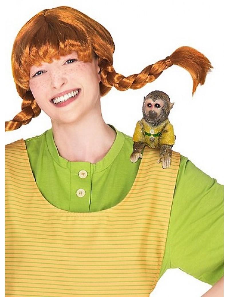 Pippi Longstocking Monkey Shoulder Prop