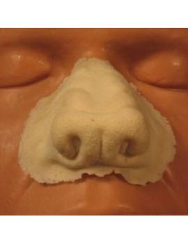 Rubber Wear Foam Prosthetic Werewolf Nose Large