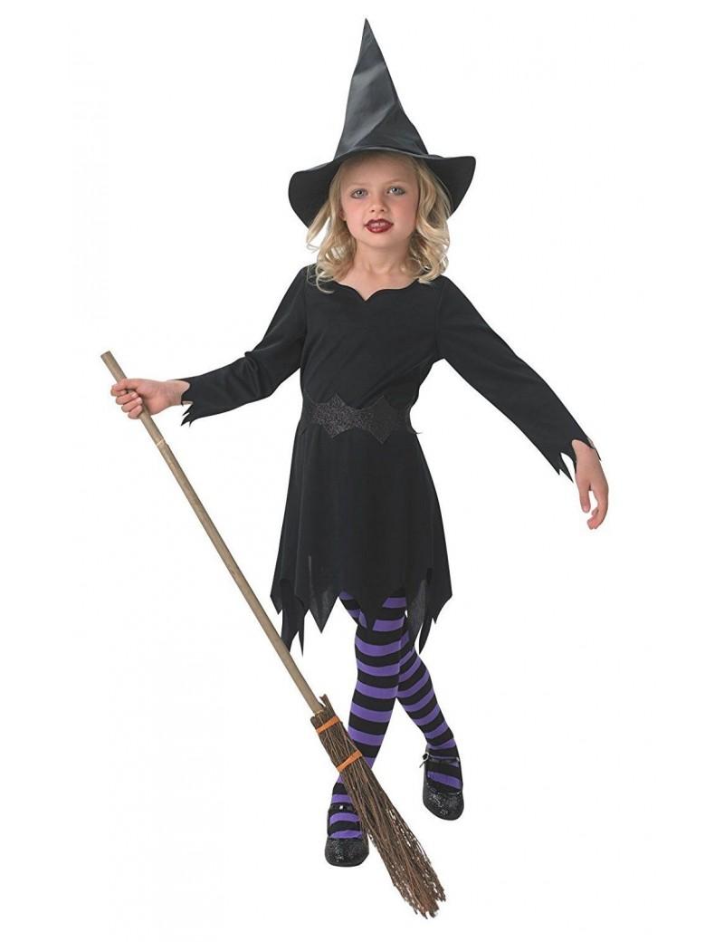 Black Sorceress girls costume Rubies 610251