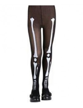 Skeleton Bone Kids Tights