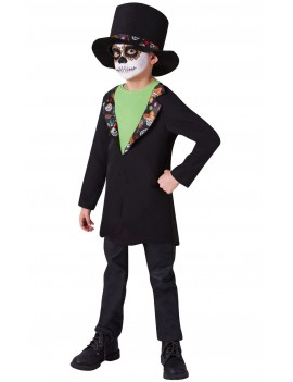 Mexican Day Of The Dead Kids Costume Rubies 640195
