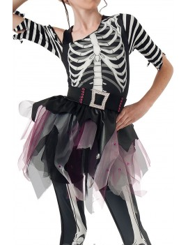Skeleton Skelee Ballerina Child Costume Rubies 610027