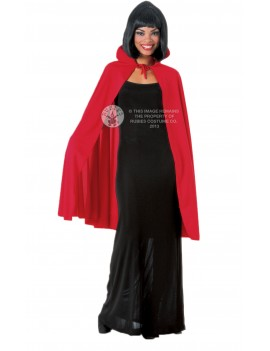 "Vampire Deluxe Cape Red 45"" Rubies 850"