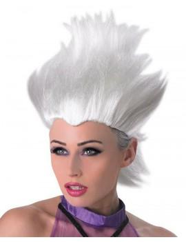 Ursula Little Mermaid White Wig Rubies 36577
