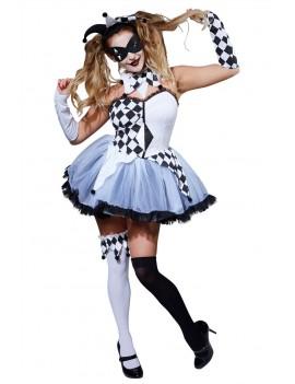 Evil Jesterella Adult Costume