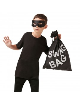 Police Thief Swag Bag Rubies 34978