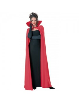 "Vampire taffeta cape 60"" red Rubies 16739"