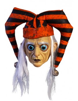 The Terror Of Hallows Eve Sad Trickster Mask