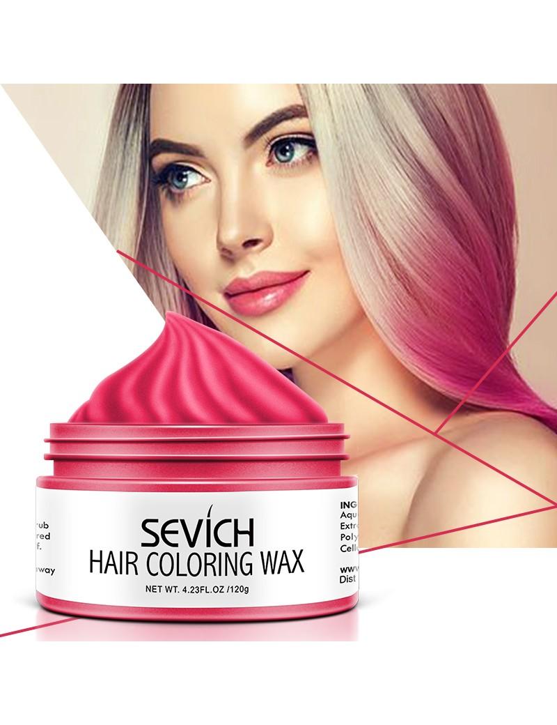 Sevich Hair Colouring Wax Pink 120 g
