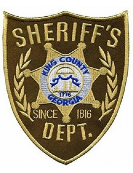 Kings County Sherrif Costume Patch