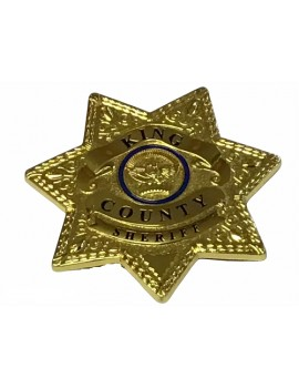 Kings County Sherrif Star Pin Badge
