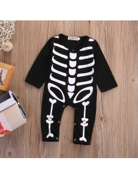 Skeleton Romper Costume