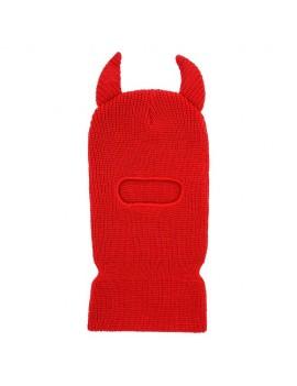 Red Devil Ski Mask