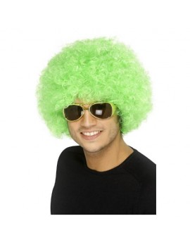 Afro Wig Green Smiffys 42084