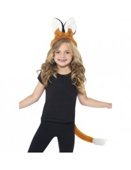 Animal Ears And Tail Set Fox Smiffys 23364