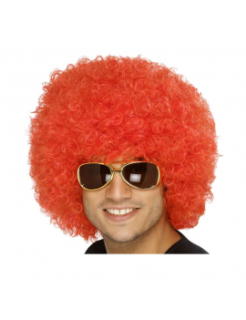 Afro Wig Red Smiffys 42089