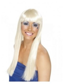 Dancing Queen long blonde wig Smiffys 90020