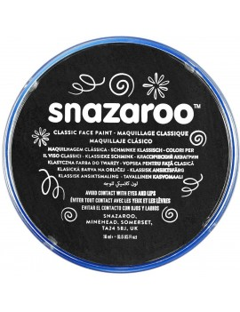 Snazaroo Classic Face Paint Black 18ml