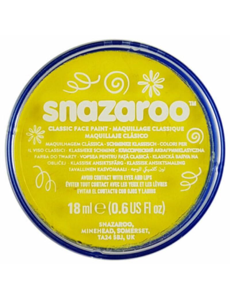 Snazaroo Classic Face Paint Bright Yellow 18ml