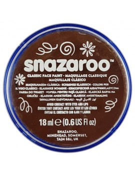Snazaroo Classic Face Paint Light Brown 18ml