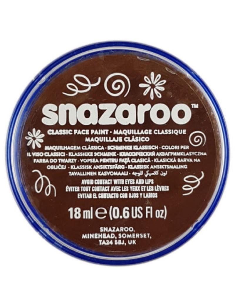 Snazaroo Classic Face Paint Light Brown 18ml