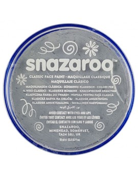 Snazaroo Classic Face Paint Light Grey 18ml