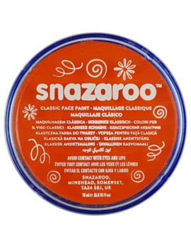 Snazaroo Classic Face Paint Orange 18ml